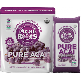 Unsweetened Acai Pulp - Acai Roots - 14oz.
