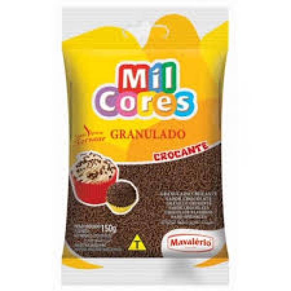 Crunchy Sprinkles -Granulado Chocolate - Mil Cores 17.64oz.