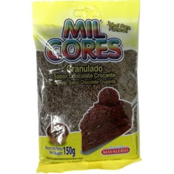 Chocolate Sprinkles - Mil Cores  5.29oz.