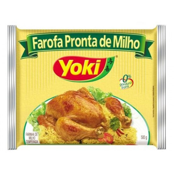 Corn Farofa Pronta Yoki 17.6oz.