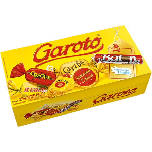 Garoto Assorted Bonbon 12.5oz.