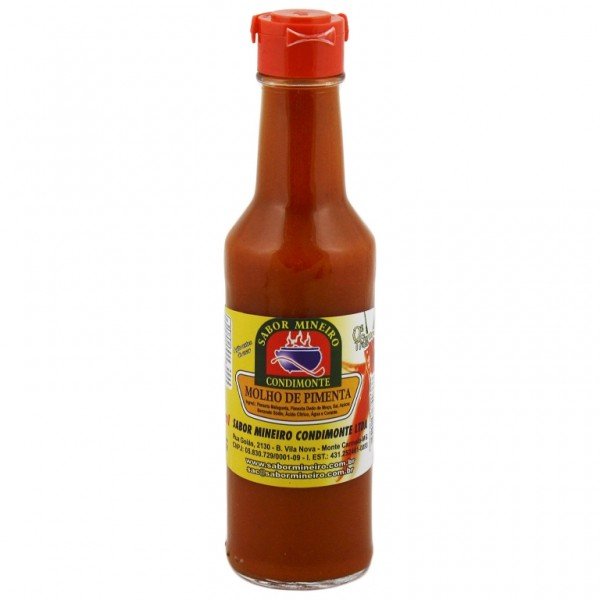 Hot Pepper Sauce - Sabor Mineiro 4.93oz.