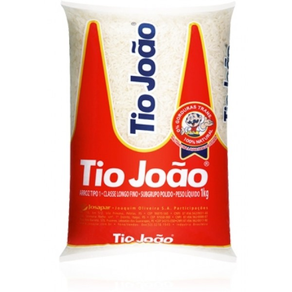 Long Grain White Rice - Tio Joao 35.2oz