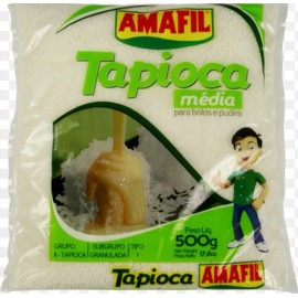 Tapioca Granulada Amafil 17.6oz.