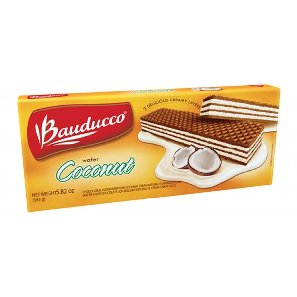 Coconut Wafer Bauducco  5.82oz.