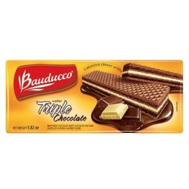 Wafer Triple Chocolate - Bauduco 5.82oz.