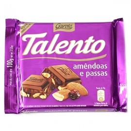 Talento Almonds and Raisins 3.52oz.
